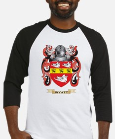 Wyatt Family Crest (Coat of Arms) Baseball Jersey