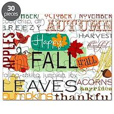 Autumn Subway Art Puzzle