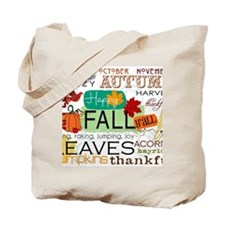 Autumn Subway Art Tote Bag