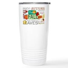 Autumn Subway Art Travel Mug
