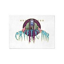 Cryptic Ink Creep 5'x7'Area Rug