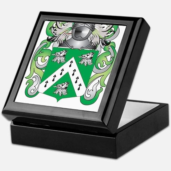Wynne Family Crest (Coat of Arms) Keepsake Box
