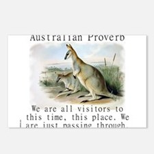 We Are All Visitors - Australian Postcards (Packag