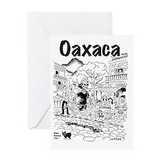 Oaxaca Running Shirt Greeting Card