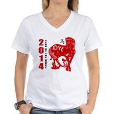 2014 Year of The Horse Paper Cut Shirt