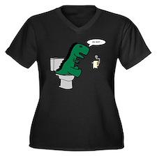 oh shit Plus Size T-Shirt