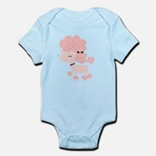 Pink Paris Poodle Infant Bodysuit