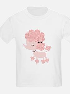 Pink Paris Poodle T-Shirt