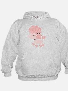 Pink Paris Poodle Hoodie
