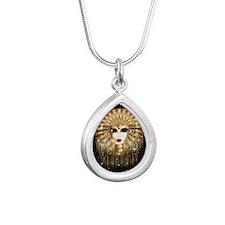 Golden Venice Carnival Mask Necklaces