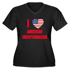 American Exceptionalism Women's Plus Size V-Neck D