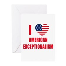 American Exceptionalism Greeting Cards (Pk of 10)