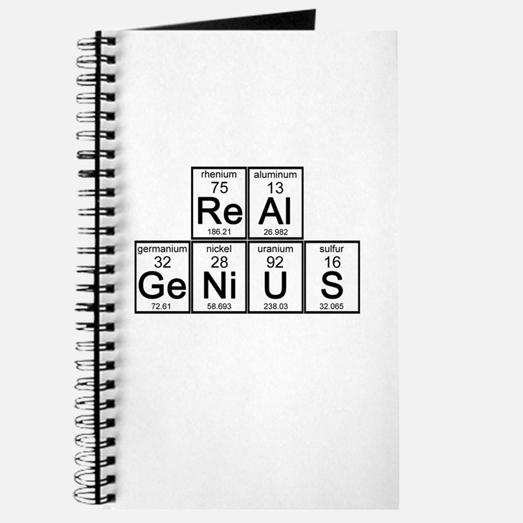 Elementary Real Genius Journal