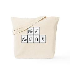 Elementary Real Genius Tote Bag