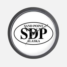 Sand Point Wall Clock
