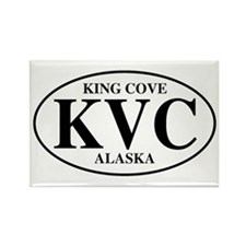King Cove Rectangle Magnet