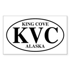 King Cove Rectangle Decal