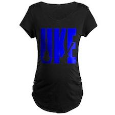 Big Bold Uke Maternity T-Shirt