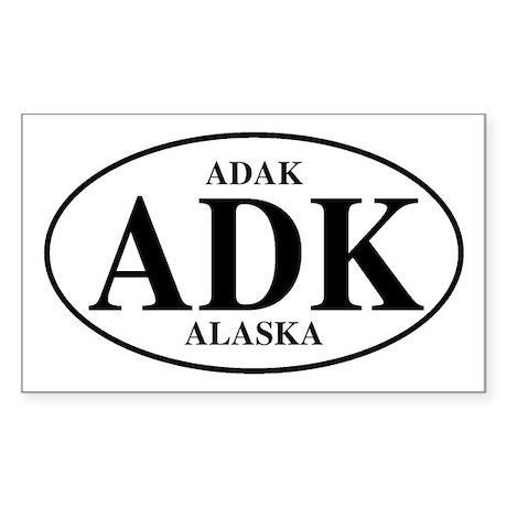 Adak Rectangle Sticker