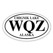 Chignik Lake Oval Decal