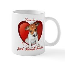 Jack Russell Heart Mug