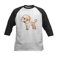 Cute Apricot Poodle Baseball Jersey