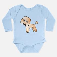 Cute Apricot Poodle Body Suit