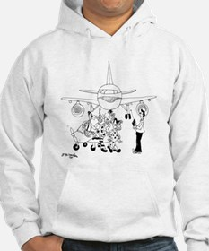 Clowns on a Plane Hoodie