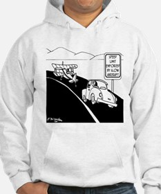 Speed Limit Enforced by Slow Aircraft Jumper Hoody