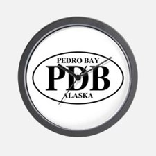 Pedro Bay Wall Clock