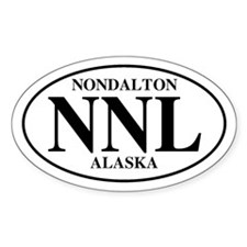 Nondalton Oval Decal