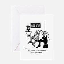 Frequent Waiter Greeting Card