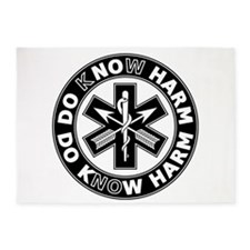 Do Know Harm - SF 5'x7'Area Rug