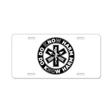 Do Know Harm - SF Aluminum License Plate