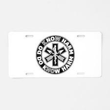 Do Know Harm - SF Aluminum License Plate