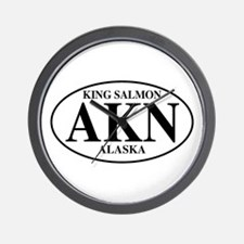 King Salmon Wall Clock