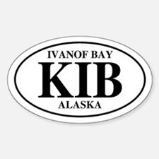 Ivanof Bay Oval Decal