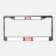 #1 Grandfather / License Plate Frame