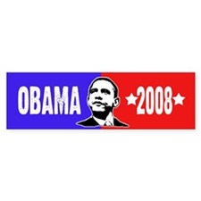 Barack Obama 2008 Bumper Bumper Sticker