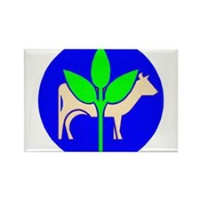 Agriculture Symbol 1 Magnets