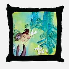 Cute Oriental Throw Pillow