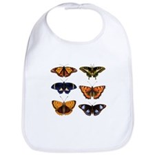 Butterfly Collage Bib