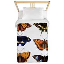 Butterfly Collage Twin Duvet