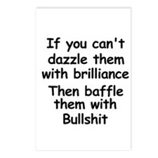 Dazzle Them With Brilliance Postcards (Package of