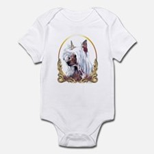 Chinese Crested Christmas/Holiday Infant Bodysuit