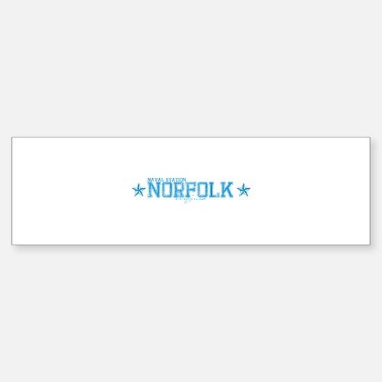 NS Norfolk VA Bumper Bumper Bumper Sticker