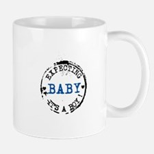 Expecting Baby - Its A Boy Mugs