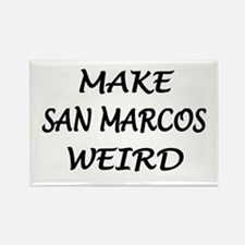 Original San Marcos Rectangle Magnet