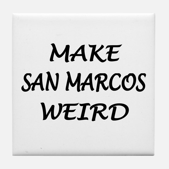 Original San Marcos Tile Coaster