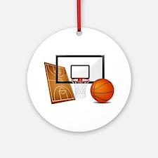 Basketball, Sports, Athlete Ornament (Round)